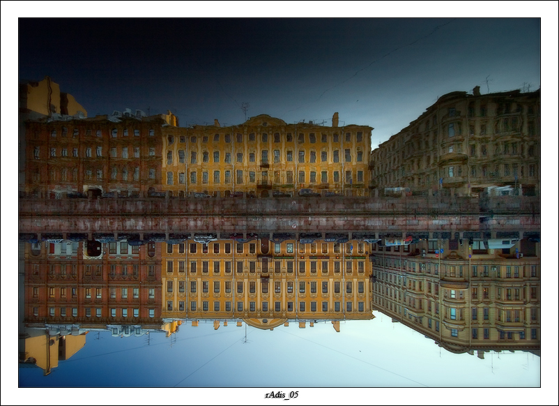 Along St. Petersburg