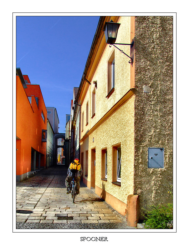 The streets of Wels