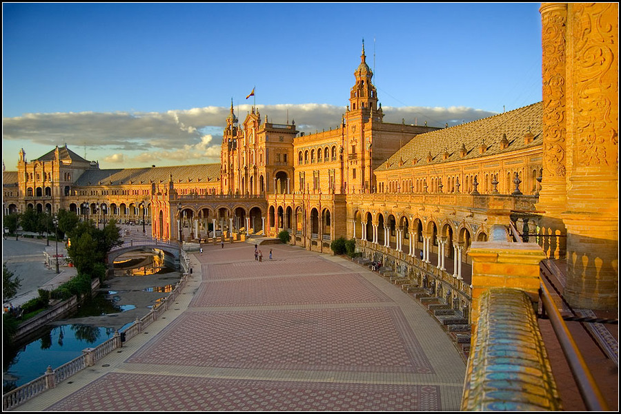 plaza espana en sevilla 2