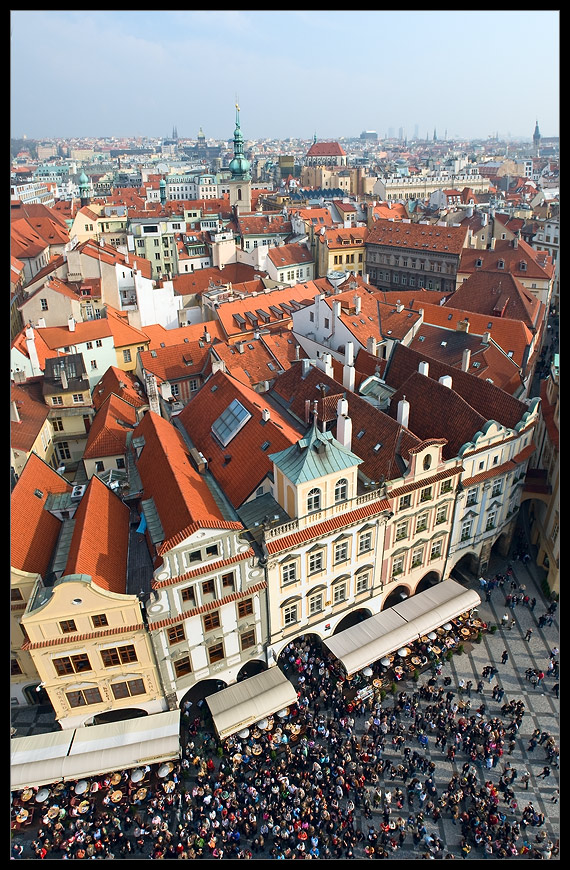 Looking from up high | Prague, cathedral, panorama, medieval