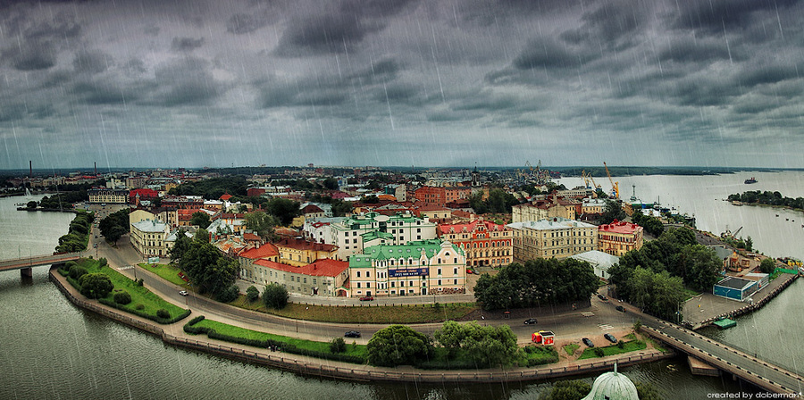 Rains in Vyborg