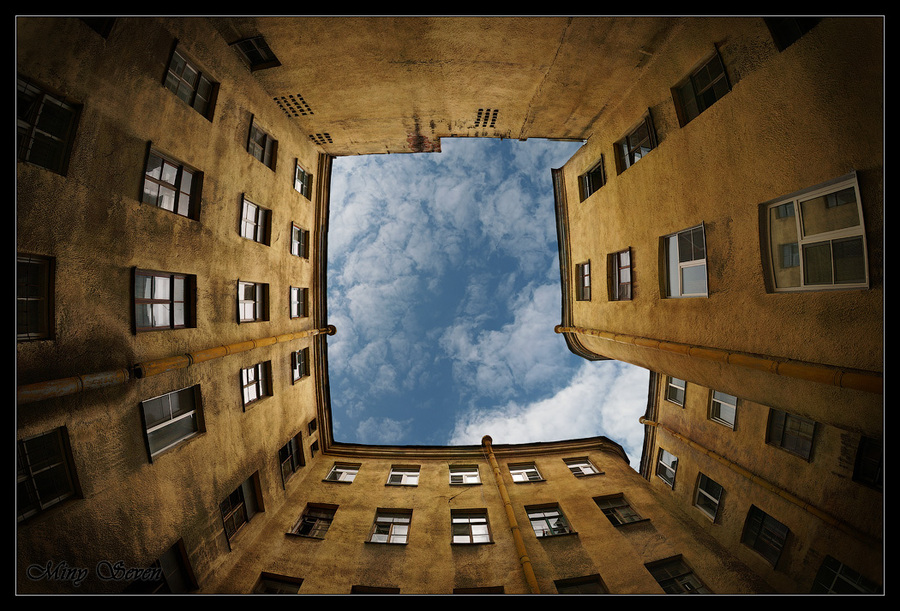 Courtyards of St. Petersburg