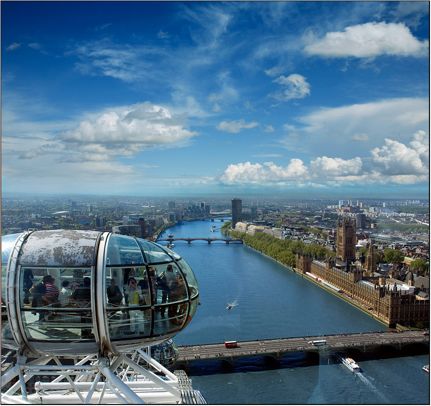 Londinium | view from the top, London, people