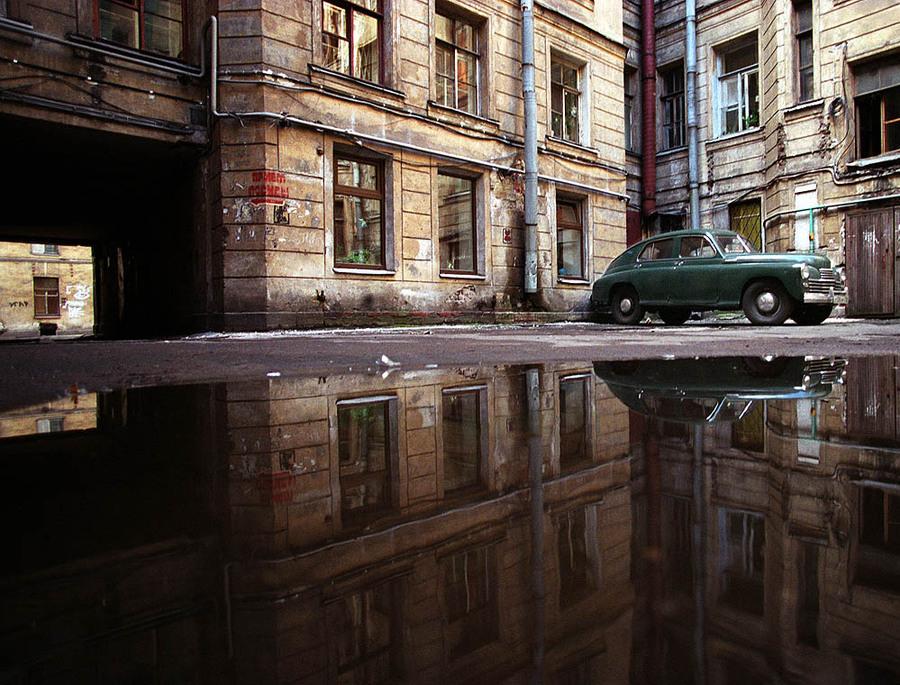 Petrogradka yard