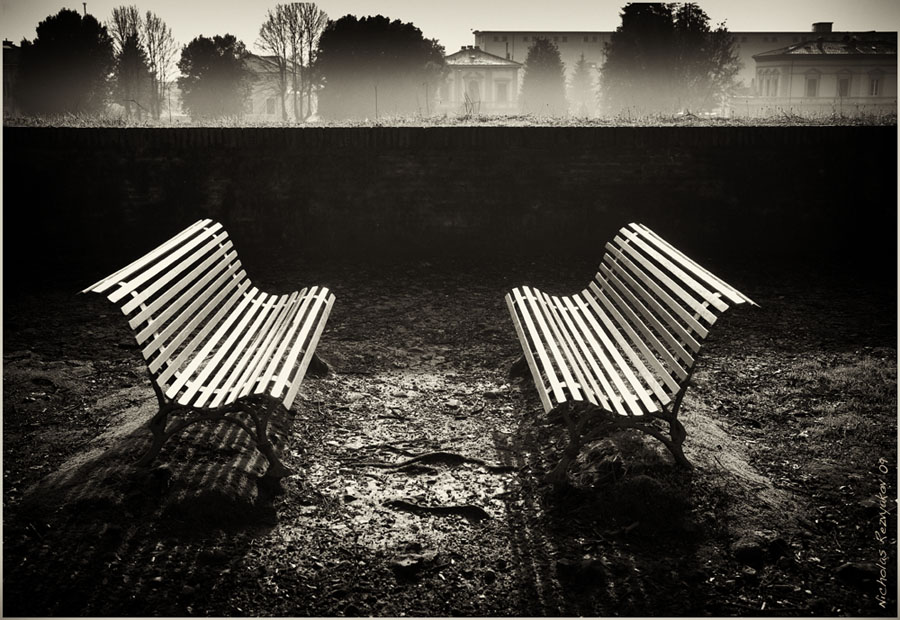 From the life of benches