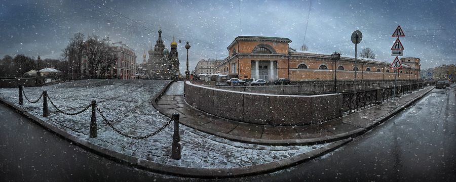 St. Petersburg before winter | winter, panorama, St. Petersburg