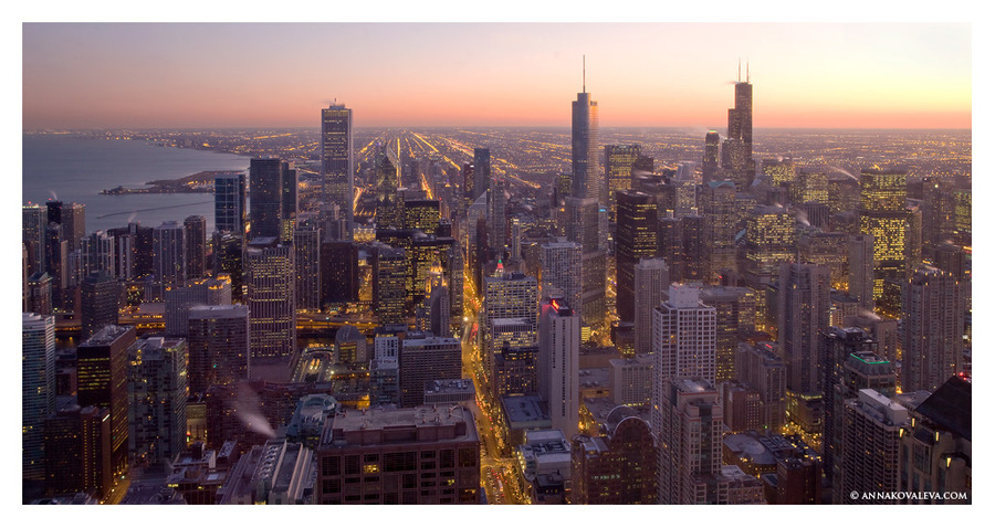 Chicago. Several minutes earlier