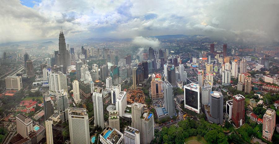 Kuala Lumpur. Monsoon.