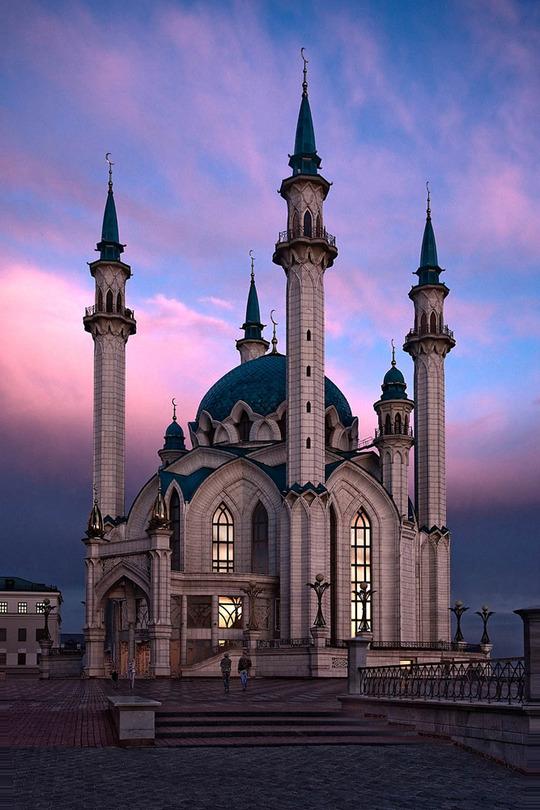 Kazan, the Kul-Sharif mosque