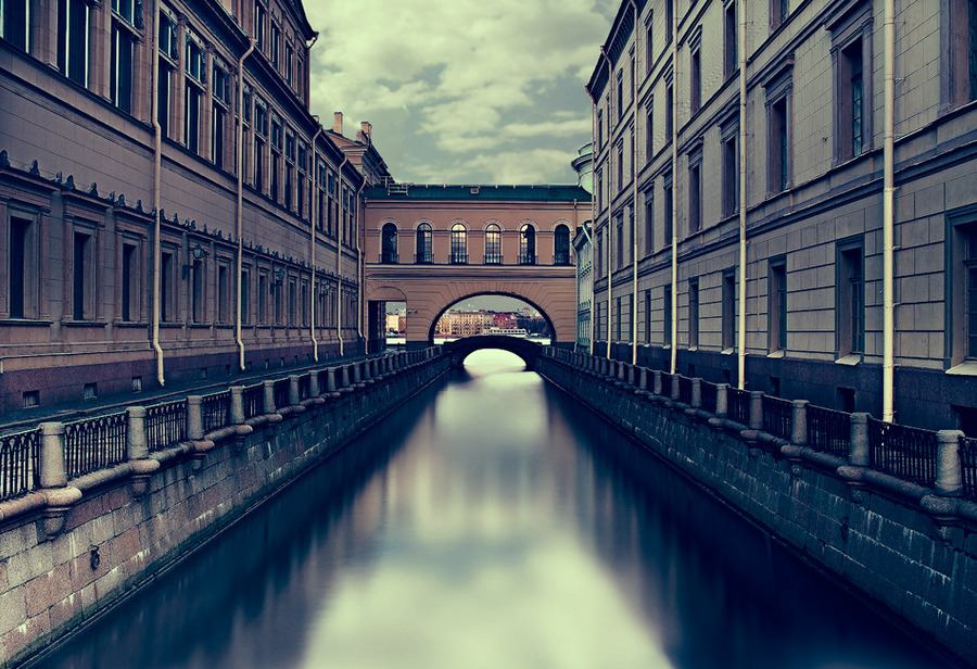 Winter canals