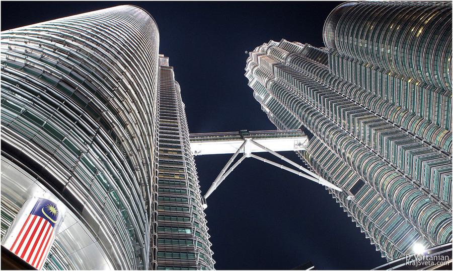 Kuala Lumpur. Petronas towers.