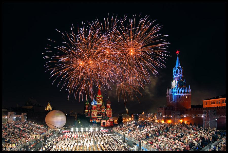 Moscow: Spasskaya tower