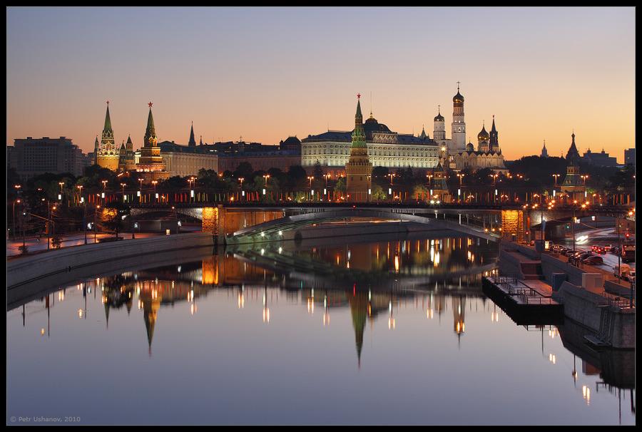 Moscow: Kremlin at dawn