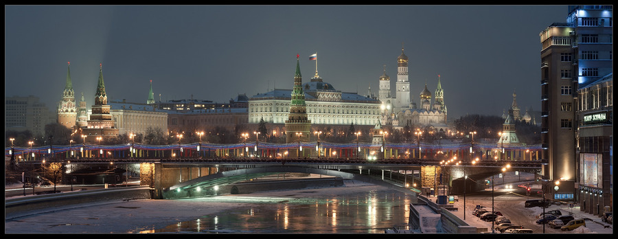 Holiday season in Moscow