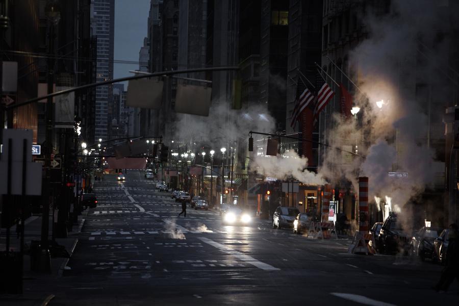 Gloomy street