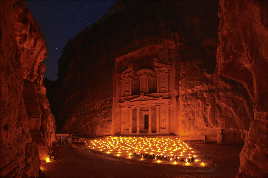 Night Petra