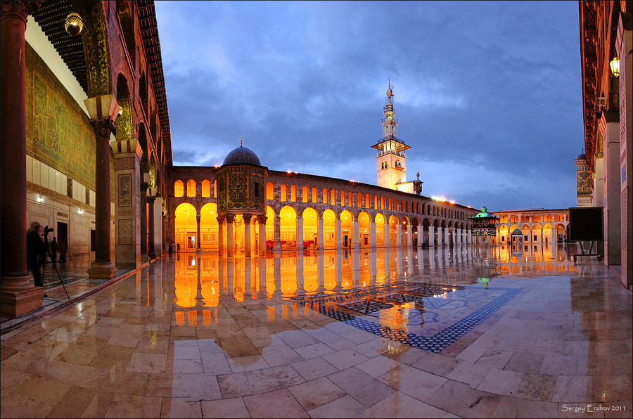 The great Umayyad Mosque