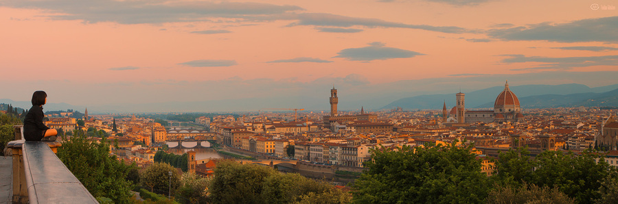 Admiring Florence