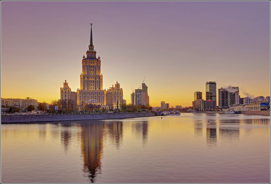 Hight waters of Moscow