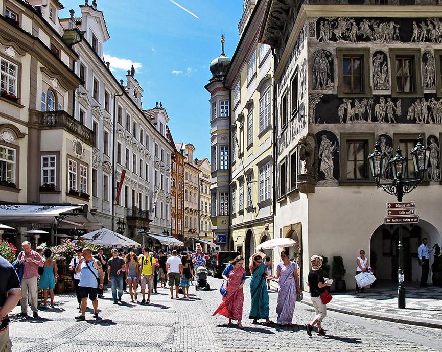 Crowded street