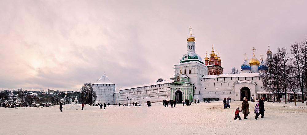 Kremlin in snow