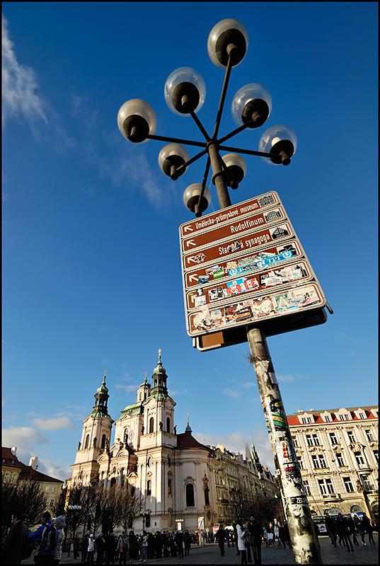 Original street lamp