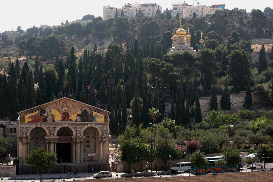 The church on the hillside