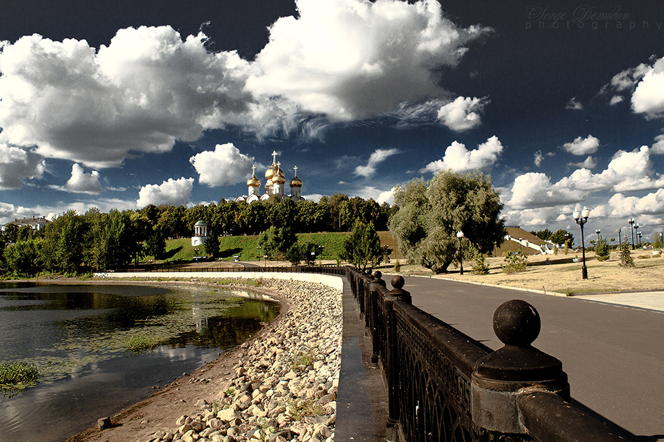 embankment Yaroslavl