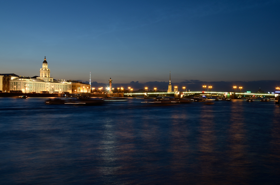 Night Saint Petersburg