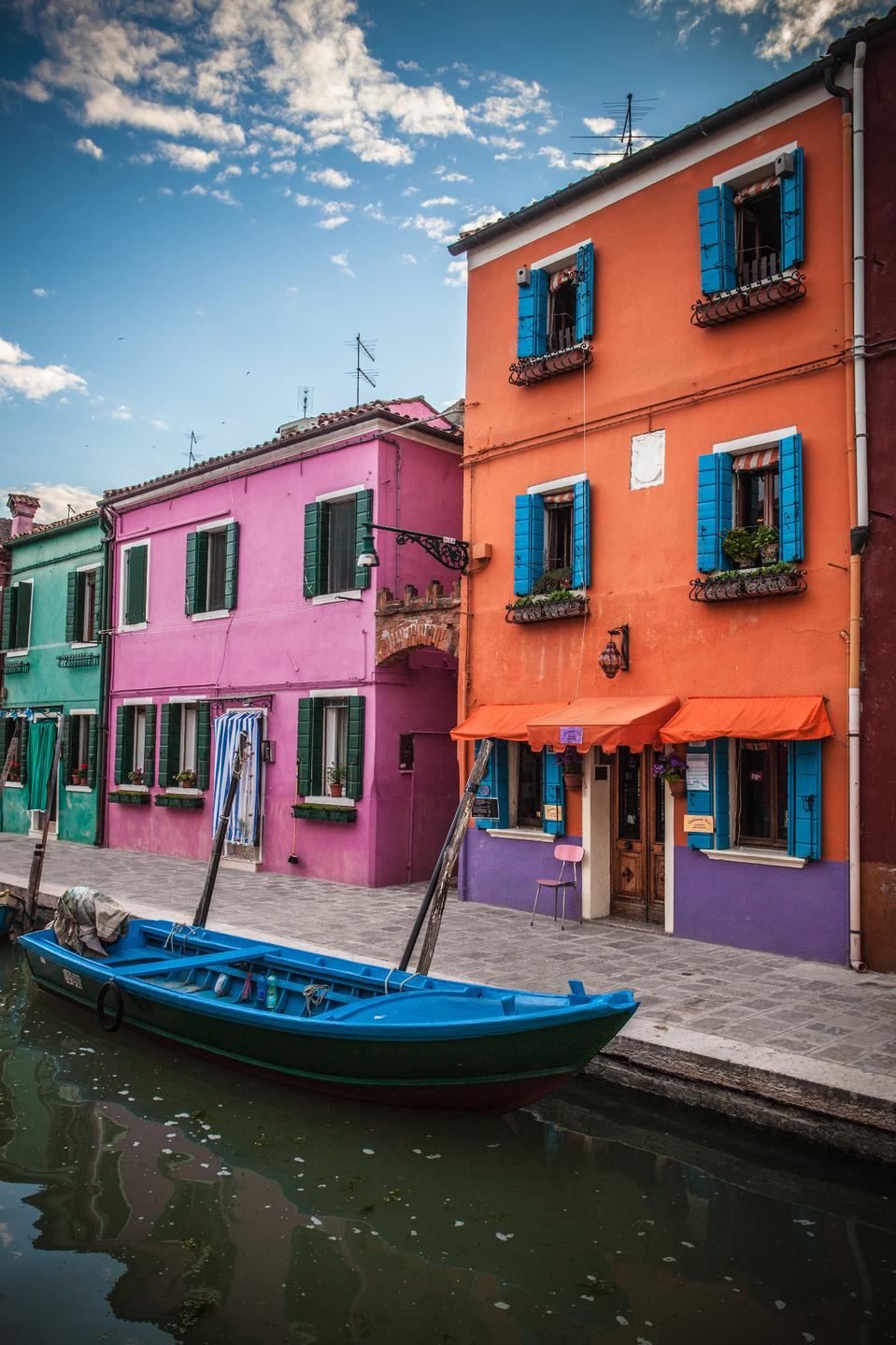 Сolours of Burano, Venice