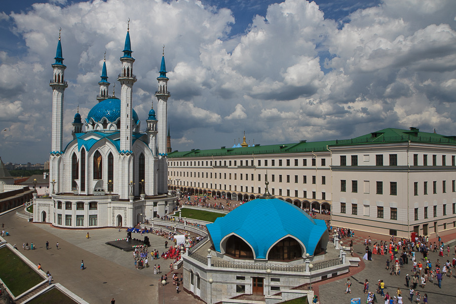The Kazan Kremlin,Kul-Sharif mosque