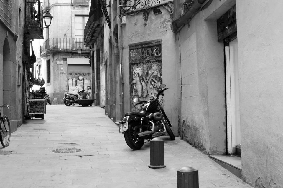 Bike   black & white