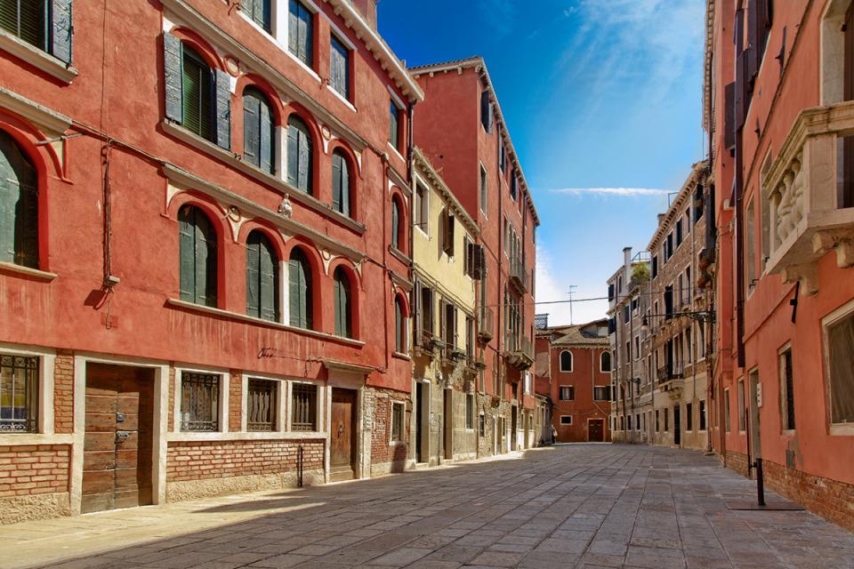 Siesta in Venice