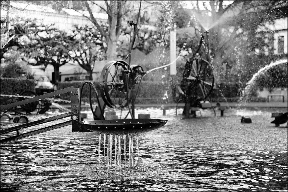 Tinguely Fountain, Basel