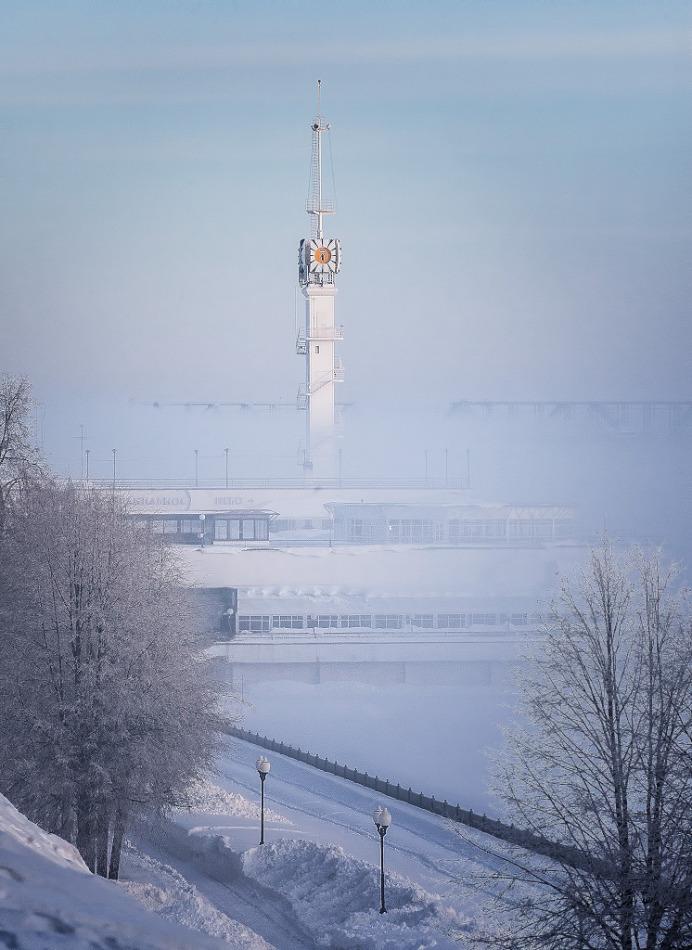 Foggy Yaroslavl