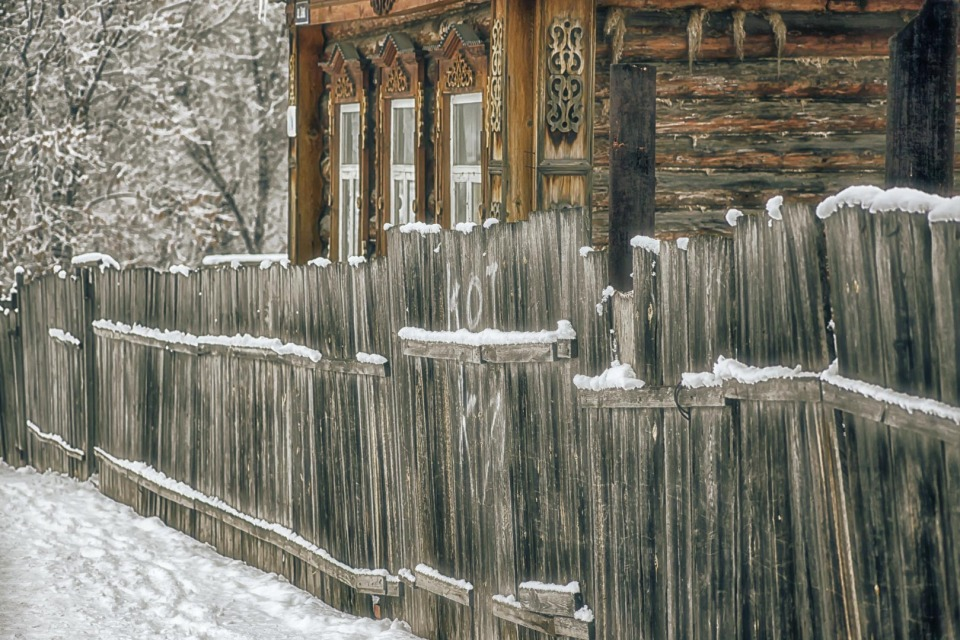 "Inscription ""cat"" on the wooden fence 