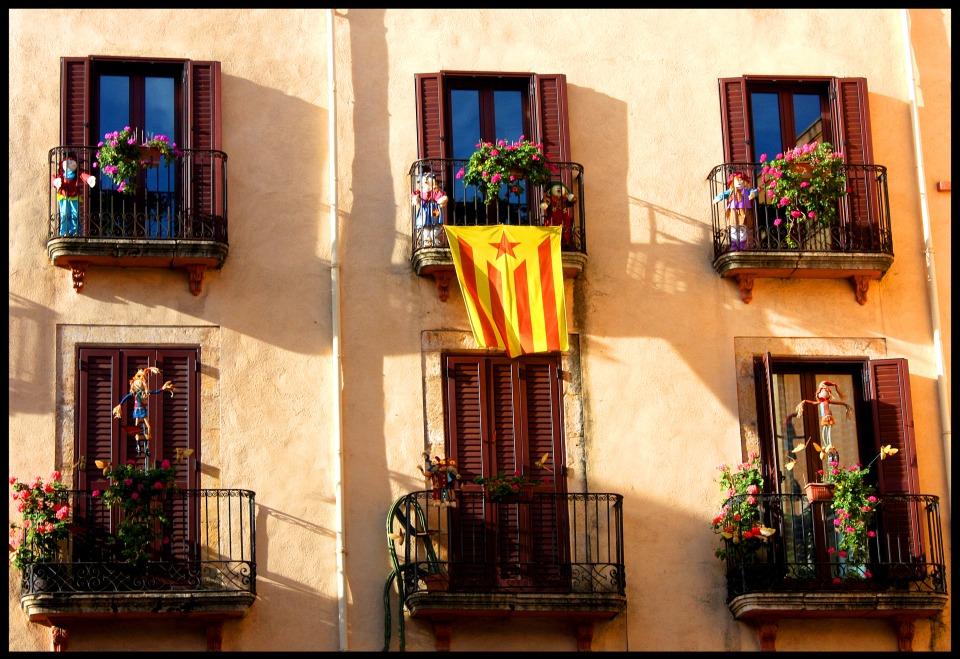 Sunny balconies