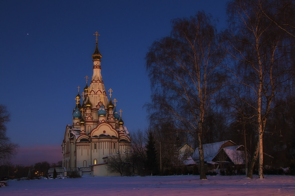 The Cathedral of Our Lady of Kazan, Dolgoprudny