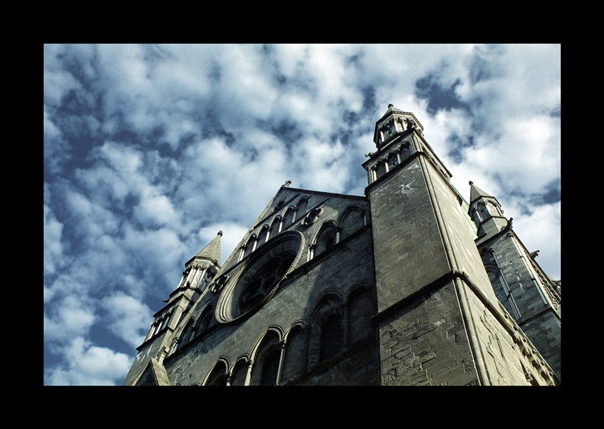 greatness of middle ages | sky, cathedral, Norway, Trondheim