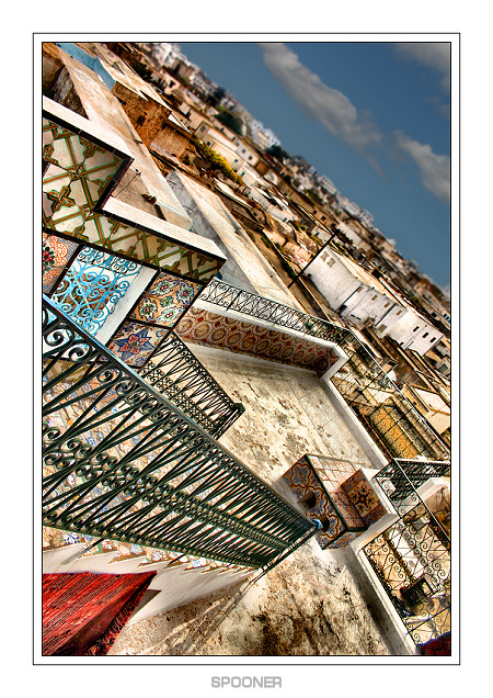 * the sight from * (tunis) | pattern, stairs, Tunis, Turkey, city