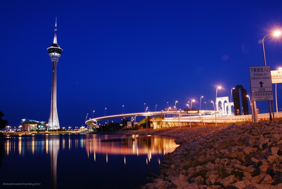 Macau Tower at Night