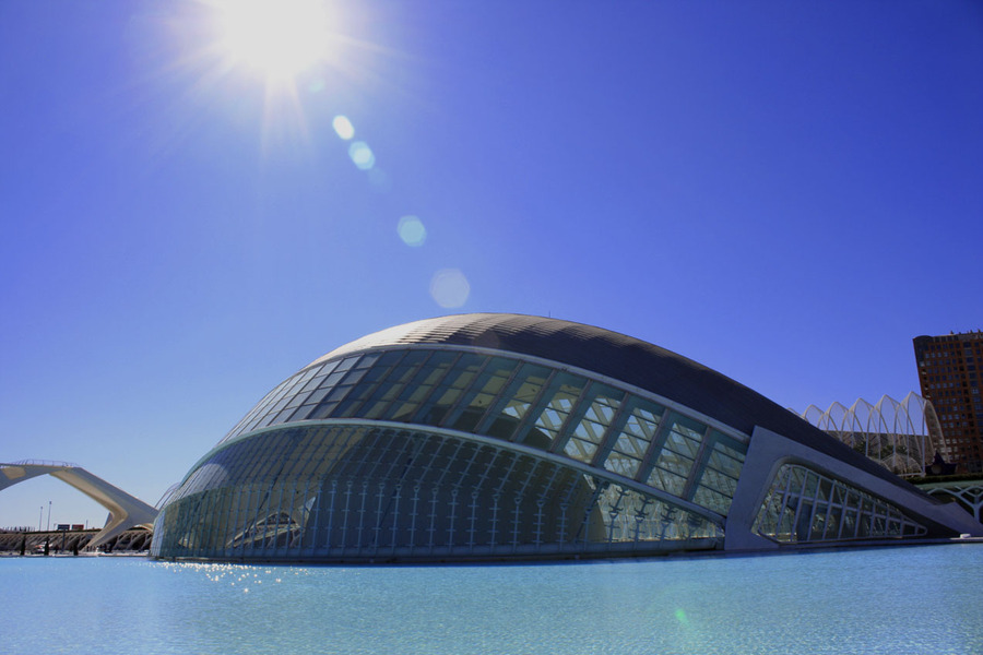 L´hemiféric! | City, of, Arts, and, Sciences, in, Valencia, Spain