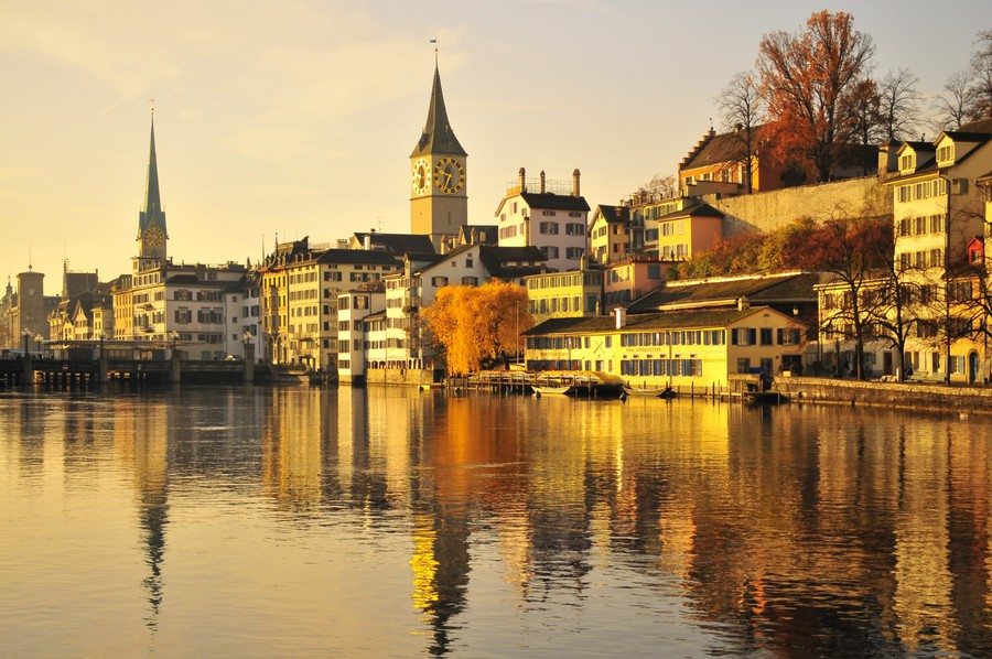 Autumn in Zurich
