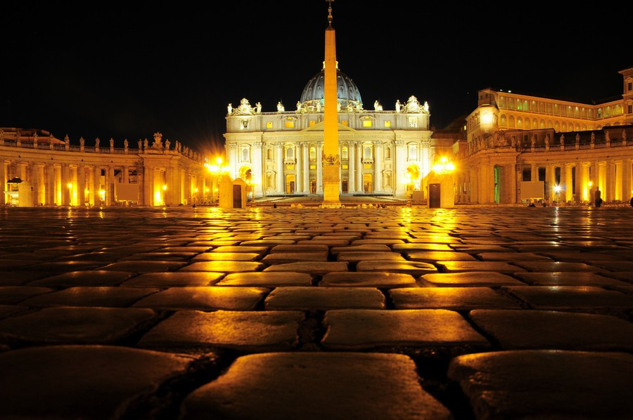 Vatican angle 0