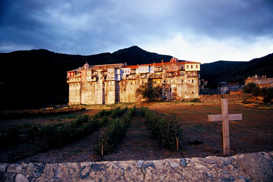 Mount Athos-Iviron monastery.